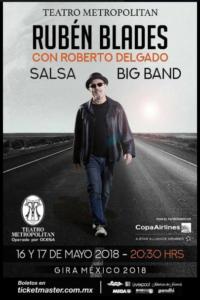 Ruben Blades Con Roberto Delgado @ Teatro Metropolitan | Perú