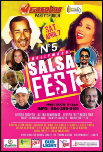 Hollywood Salsa Fest @ Gasolina Party in a Pouch | Perú
