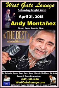 Andy Montañez @ West Gate Lounge | Perú