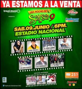 Una Noche de Salsa 9 @ Estadio Nacional | Perú