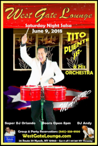 Tito Puente Jr @ West Gate Lounge   Perú