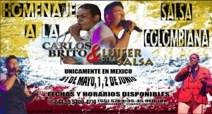 Carlos Brito y Luifer De La Salsa @ Mexico | Perú