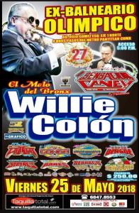 Willie Colón @ Ex Balneario Olimpico | Perú