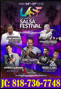 Los Angeles Salsa festival 2018 @ Hollywood Loews Hotel | Perú