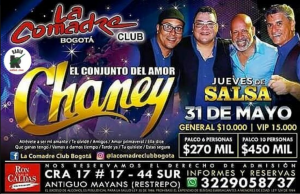 Conjunto Del Amor Chaney @ La Comadre Club | Perú