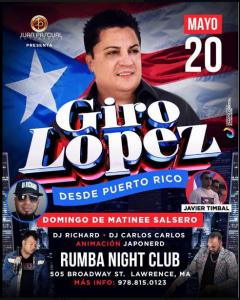 Giro Lopez @ Rumba Night Club | Perú