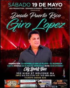 Giro Lopez @ City Sports Bar | Perú