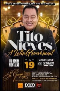 Tito Nieves @ St George Theatre | Perú