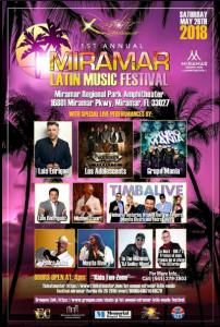 Miramar Latin Music Festival @ Miramar Regional Park | Perú
