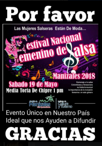 Festival Femenino de Salsa @ Media Torta de Chipre | Perú
