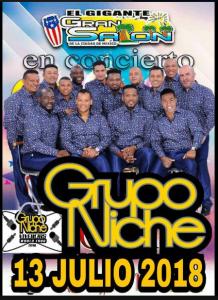 Grupo Niche @ El Gigante Gran Salon | Perú