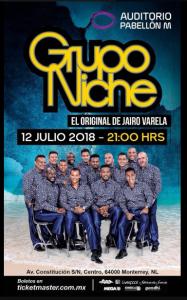 Grupo Niche @ Auditorio Pabellón M | Perú