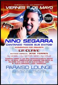 Nino Segarra @ Paraiso Lounge | Perú