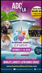 Aventura Dance Cruise @ Carnival Imagination Cruise | Perú
