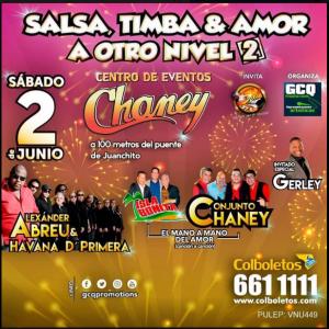 Salsa, Timba & Amor @ Centro de Eventos Chaney   Perú