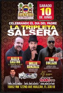 La Tripleta Salsera @ Estados Unidos, Florida   Perú