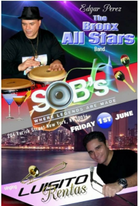 The Bronx All Stars @ SOB'S   Perú
