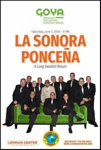 La Sonora Ponceña @ Lehman Center   Perú