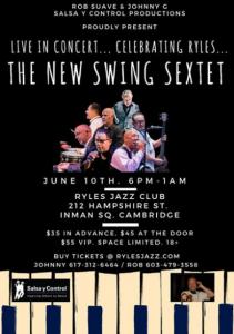 The New Swing Sextet @ Ryles Jazz Club   Perú