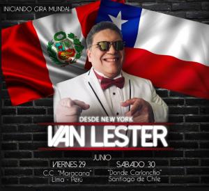 Van Lester @ CC Maracana | Perú