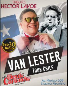 Van Lester Tour Chile @ Donde Carloncho | Perú