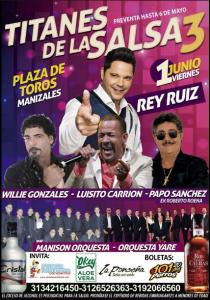 Titanes De La Salsa 3 @ Plaza De Toros   Perú