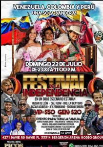 Festival De La Independencia @ Bergeron Arena | Perú