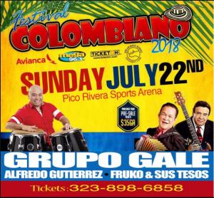 Festival Colombiano 2018 @ Pico Rivera Sports Arena | Perú