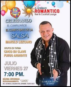 El Bombazo Romantico @ Ave Betances | Perú