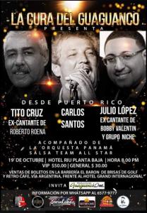 Tito Cruz, Carlos Santos Y Julio Lopez @ Hotel Riu Planta Baja