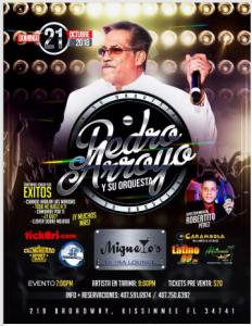 Pedro Arroyo Y Su Orquesta @ Miguelos Ultra Lounge