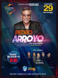 Pedro Arroyo @ Hermanos Peralta Sala De Eventos