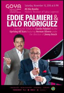 Eddie Palmieri Y Lalo Rodriguez @ Lehman Center