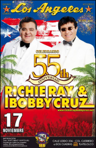Richie Ray Y Bobby Cruz @ Colonia Guerrero