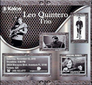 Leo Quintero Trio @ Kalos Music & Art School