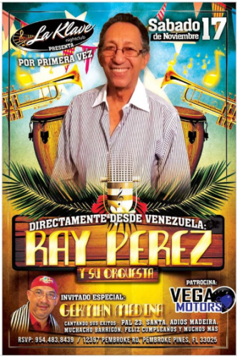 Ray Pérez Y Su Orquesta