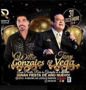 Willie Gonzáles Y Tony Vega @ C.C. Viera