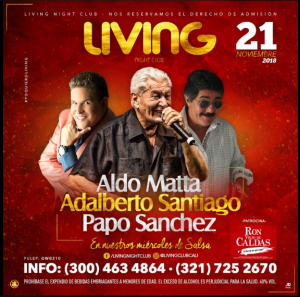 Aldo Matta Y Amigos @ Living Night Club