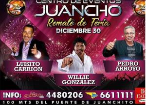 Luisito Carrión Y Amigos @ Centro de Eventos Juancho