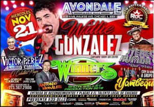 Willie González @ Avondale Music Hall