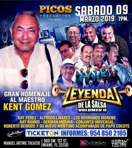 Kent Gomez y Amigos @ Manuel Artime Theater