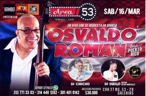 Osvaldo Roman @ Área 53 Terraza - Café