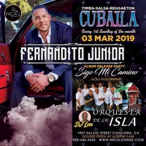Fernandito Junior y Orquesta de la Isla @ Nica Lounge